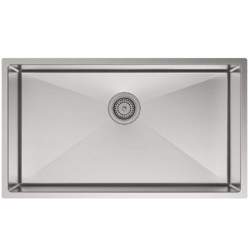 Kohler Strive Stainless Steel Jumbo Single Bowl Kitchen Sink - 5285-NA